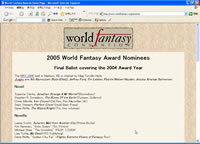The World Fantasy Awards
